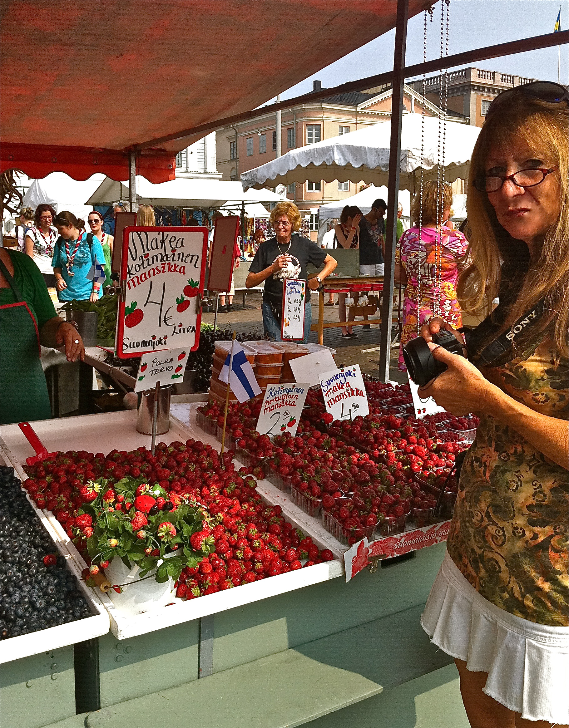 Finland Food Travelogue and a Garden by the Medieval Castle ...