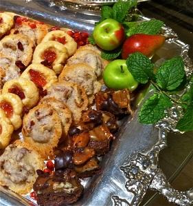 Praline Cookies and Turtle Brownies